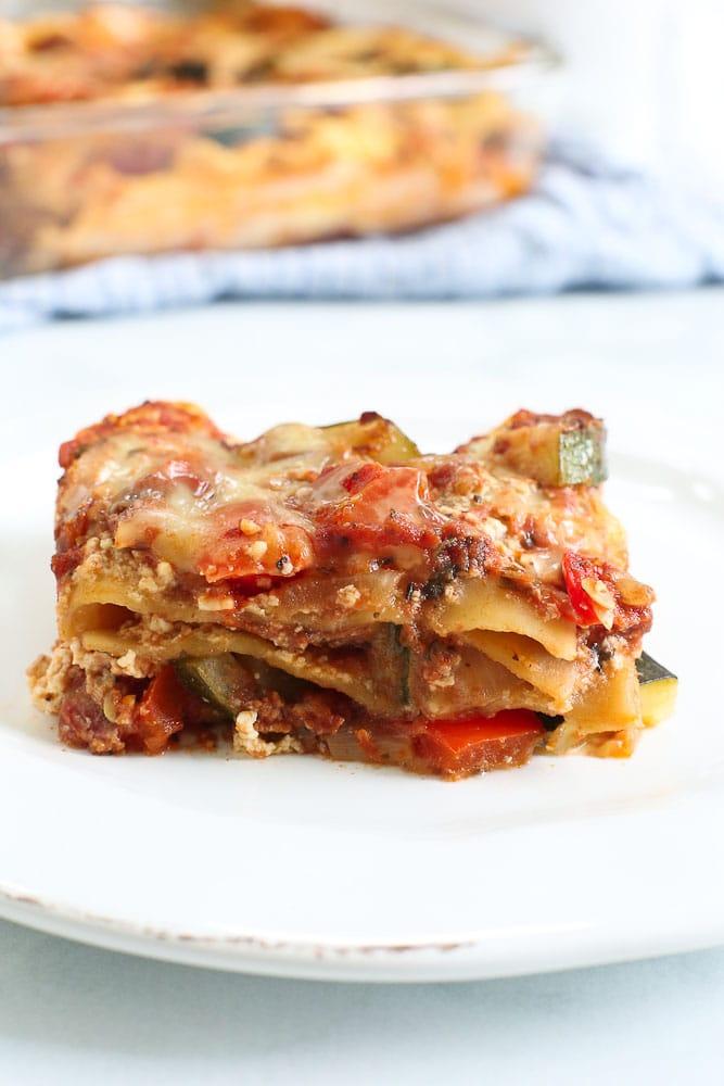 Vegetable Lasagna Recipe Easy  Healthy  Happy Healthy