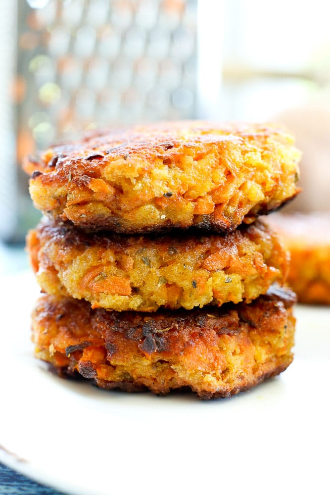 Sweet Potato Fritters Recipe With Avocado Dipping Sauce Happy Healthy Mama