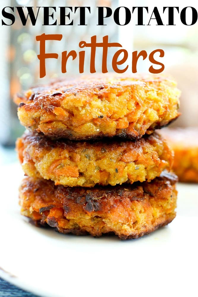 You will LOVE these Sweet Potato Fritters! So easy to make and absolutely delicious. #fritters #sweetpotato #recipes #healthy