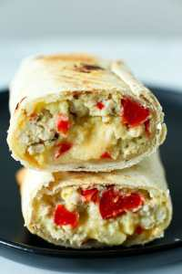 Make ahead freezer breakfast burritos recipe easy