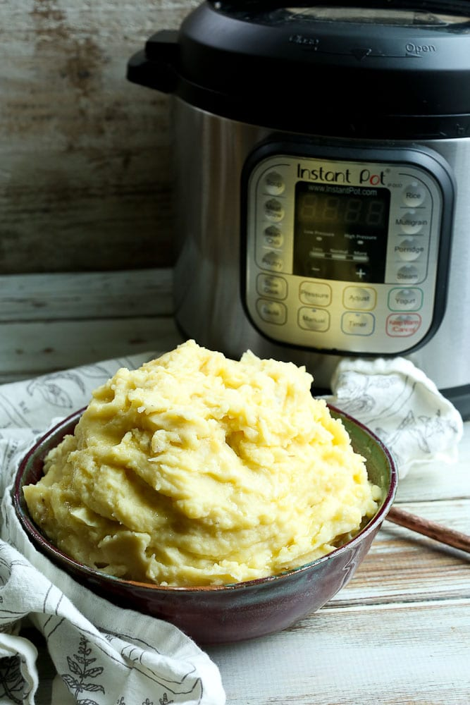 Instant Pot Mashed Potatoes Recipe Thanksgiving