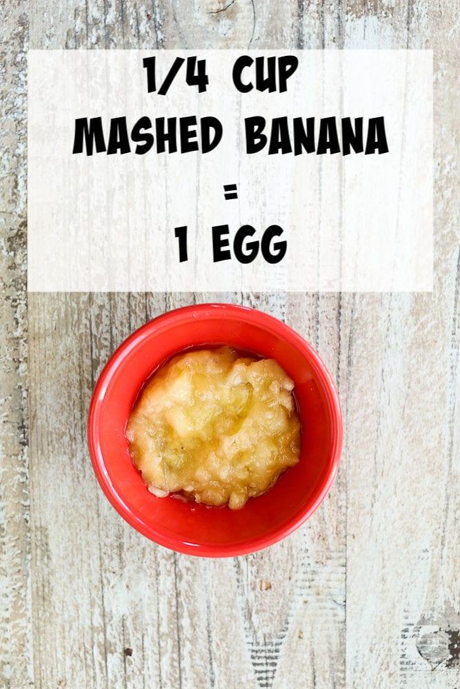 Egg Substitutes-banana