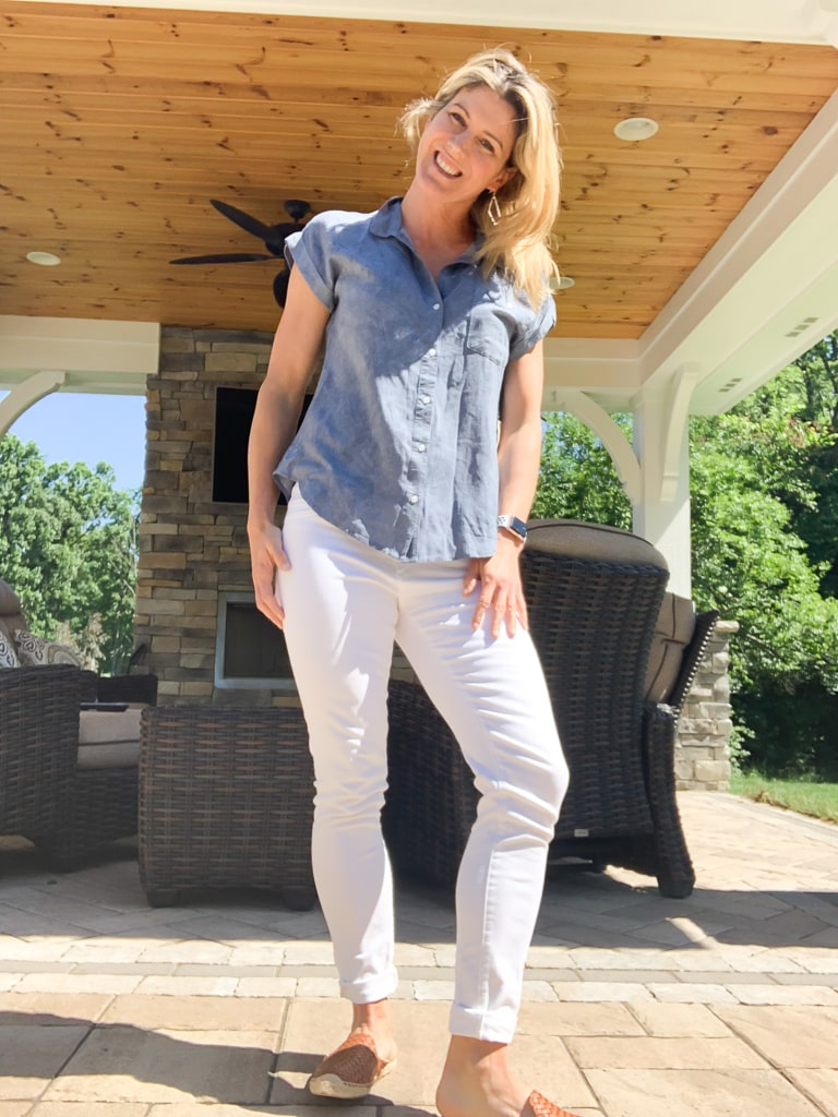 Stitch Fix Summer 2019 Hayford One Pocket Top
