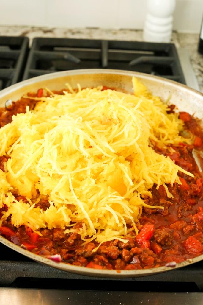 Spaghetti Squash Skillet Casserole