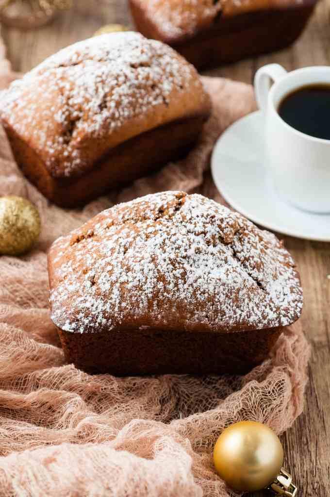 Mini Gingerbread Loaf Recipe