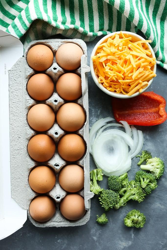 Breakfast Egg Casserole Ingredients