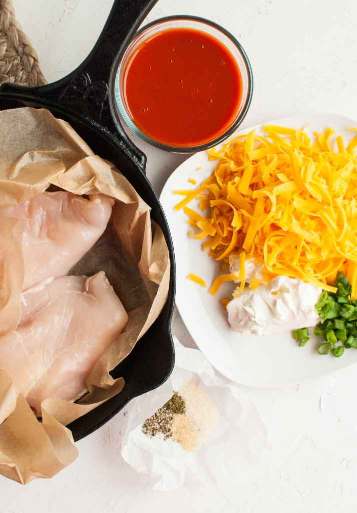 ingredients for buffalo chicken breast recipe