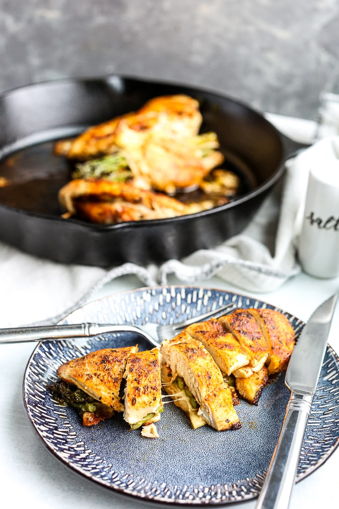 Asparagus Stuffed Chicken Breasts recipe