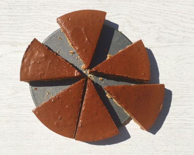 Choc orange cheesecake (2)
