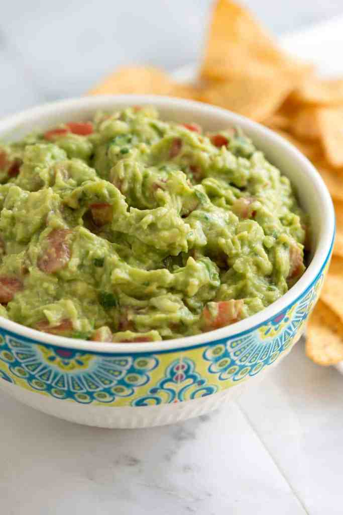 Guacamole is a Low Carbohydrate Snack