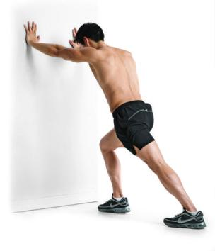 Calf Stretch for Morning Stretching