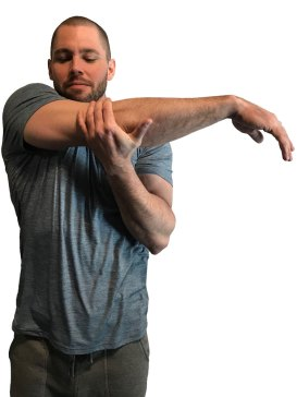 Man Stretching with Arm Across Body