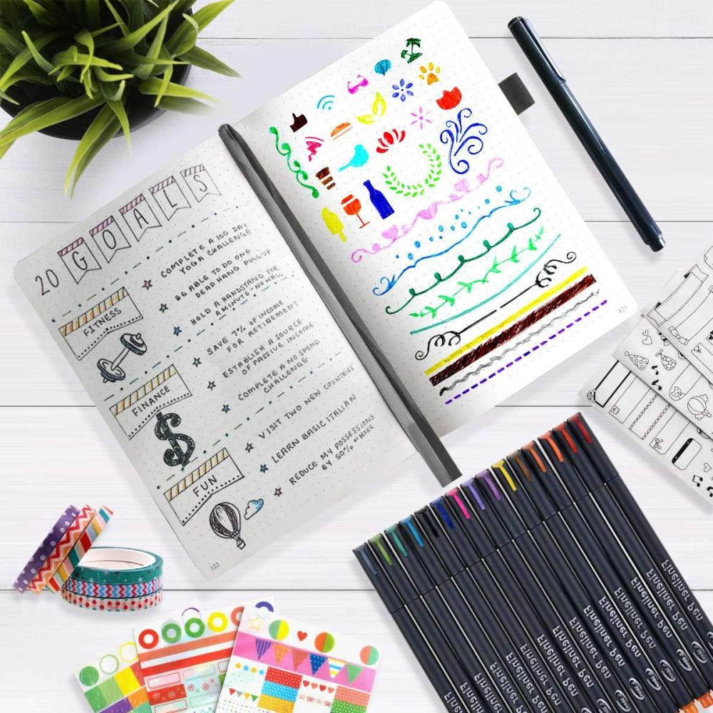 Journal Tracking Lifestyle Changes