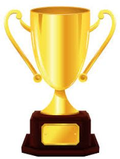 Trophy for Friendly Competition When Making a Lifestyle Change