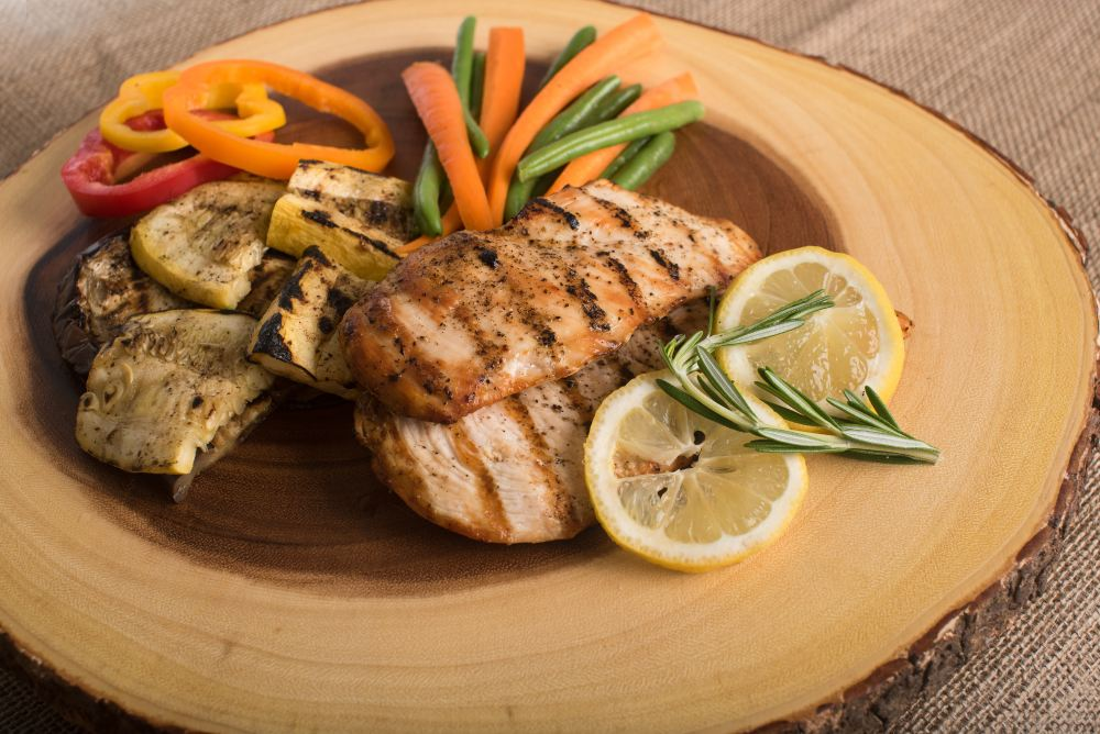 Chicken and Fish- Add Protein to Your Cheat Day