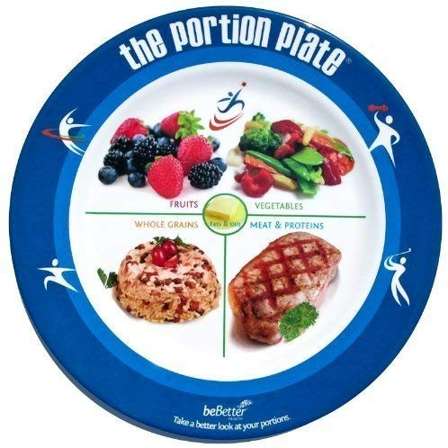 Portion Control Plate to Lose 20 Pounds