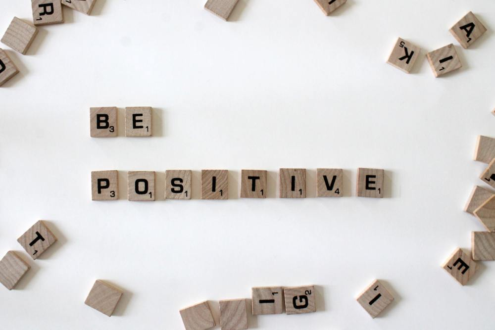 Be Positive When You Build Healthy Habits