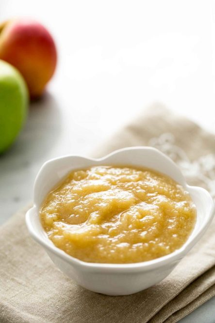 Bowl Of Applesauce- How To Cut Back On Sugar