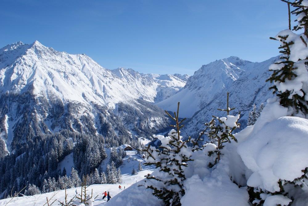 Great skiing resorts in Tyrol and Vorarlberg