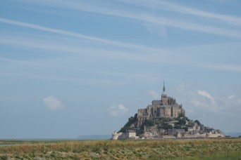 Mont Saint Michel - one of the landmarks of France.