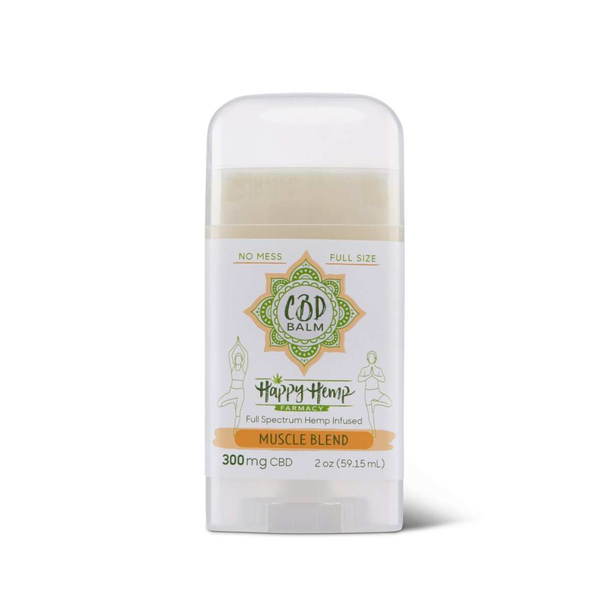 Happy Hemp No Mess CBD Balm