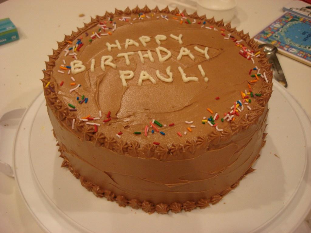 Yellow Cake Amp Chocolate Frosting Happy Hollandaise