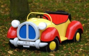 Noddy Childrens Pedal Car
