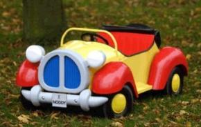 Noddy Childrens Pedal Car