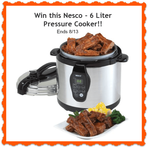 pressure cooker giveaway