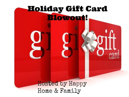 Gift Card Blow Out