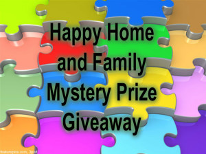 Happy Home and Family Mystery Prize Giveaway