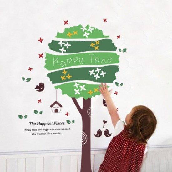 Decorate all the rooms of your house with vinyl wall art stickers