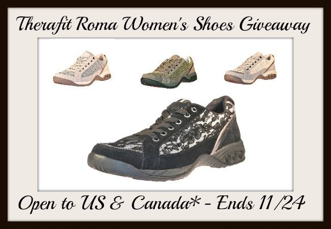 Therafit Roma Shoes Giveaway