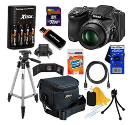 Nikon CoolPix L830 Digital Camera Kit Sweepstakes