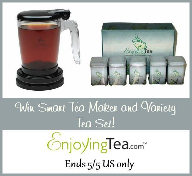 EnjoyingTea.com Tea Products Prize Pack Giveaway