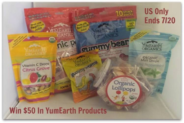 YumEarth $50 in Products Giveaway