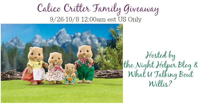 critter family giveaway