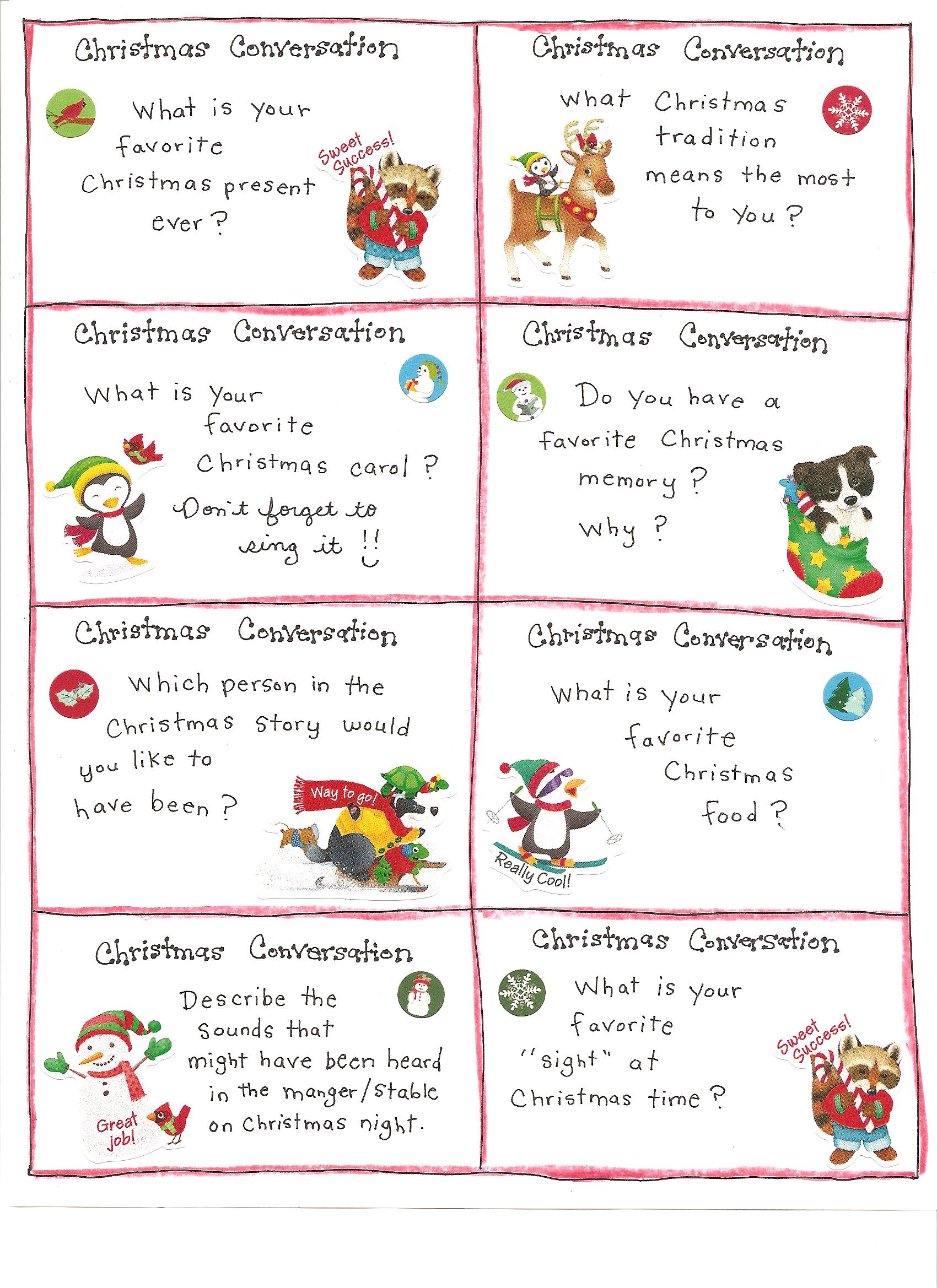 Christmas Fun Cards