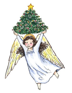 Christmas Angel.How To Be A Christmas Angel Happy Home Fairy