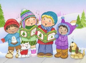 Christmas Caroling Images.Christmas Caroling And Treats Happy Home Fairy