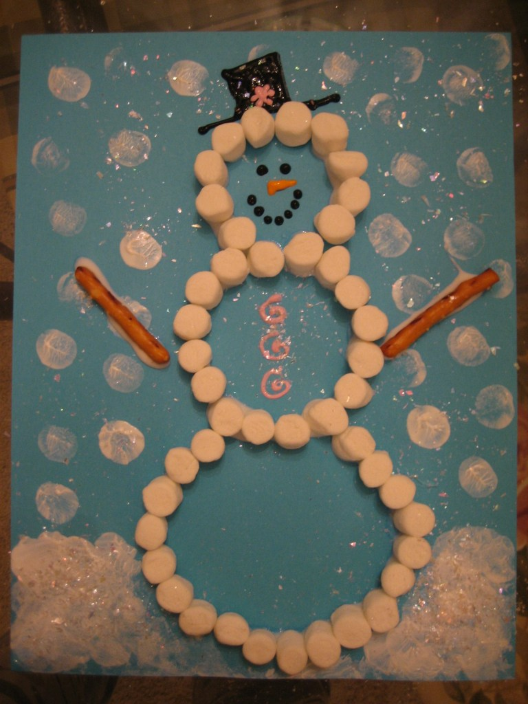 School Winter Bulletin Board