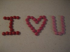 M&M Love Notes
