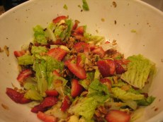 Recipe – Sweetheart Strawberry Salad