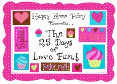 The 25 Days of Love Fun – Day 1: M&M Messages of Love