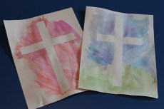 A Simple Cross Craft for Easter