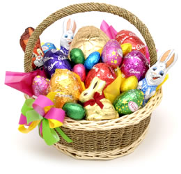 An easter basket for the happy hubby free printables happy home ask your man what kind of easter candies are his favorite if he needs a new pair of boxers a new book or even a starbucks gift card all great ideas negle Image collections
