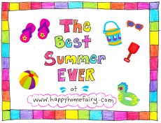Back to School at Happy Home Fairy