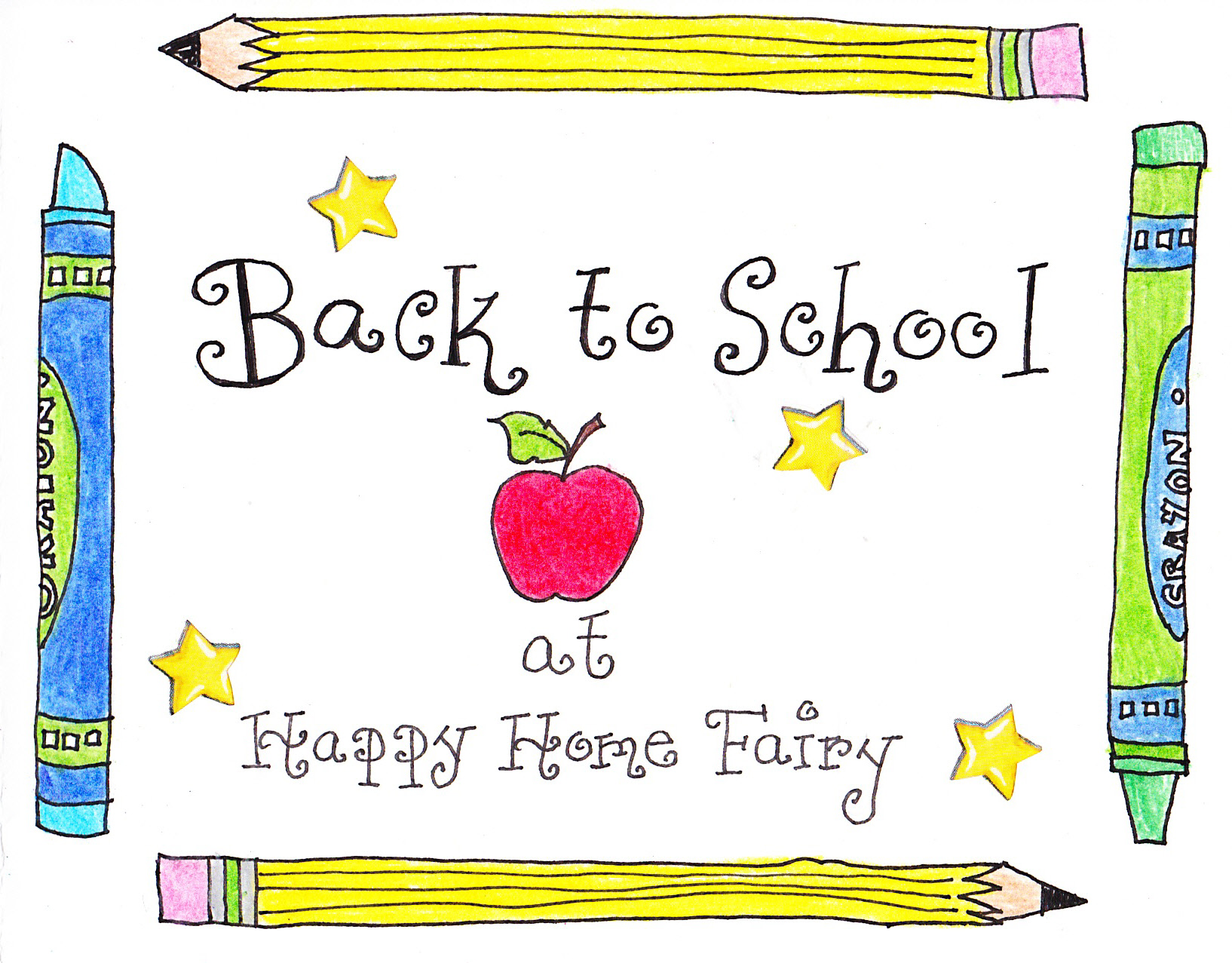 Gearing Up For Back To School Happy Home Fairy