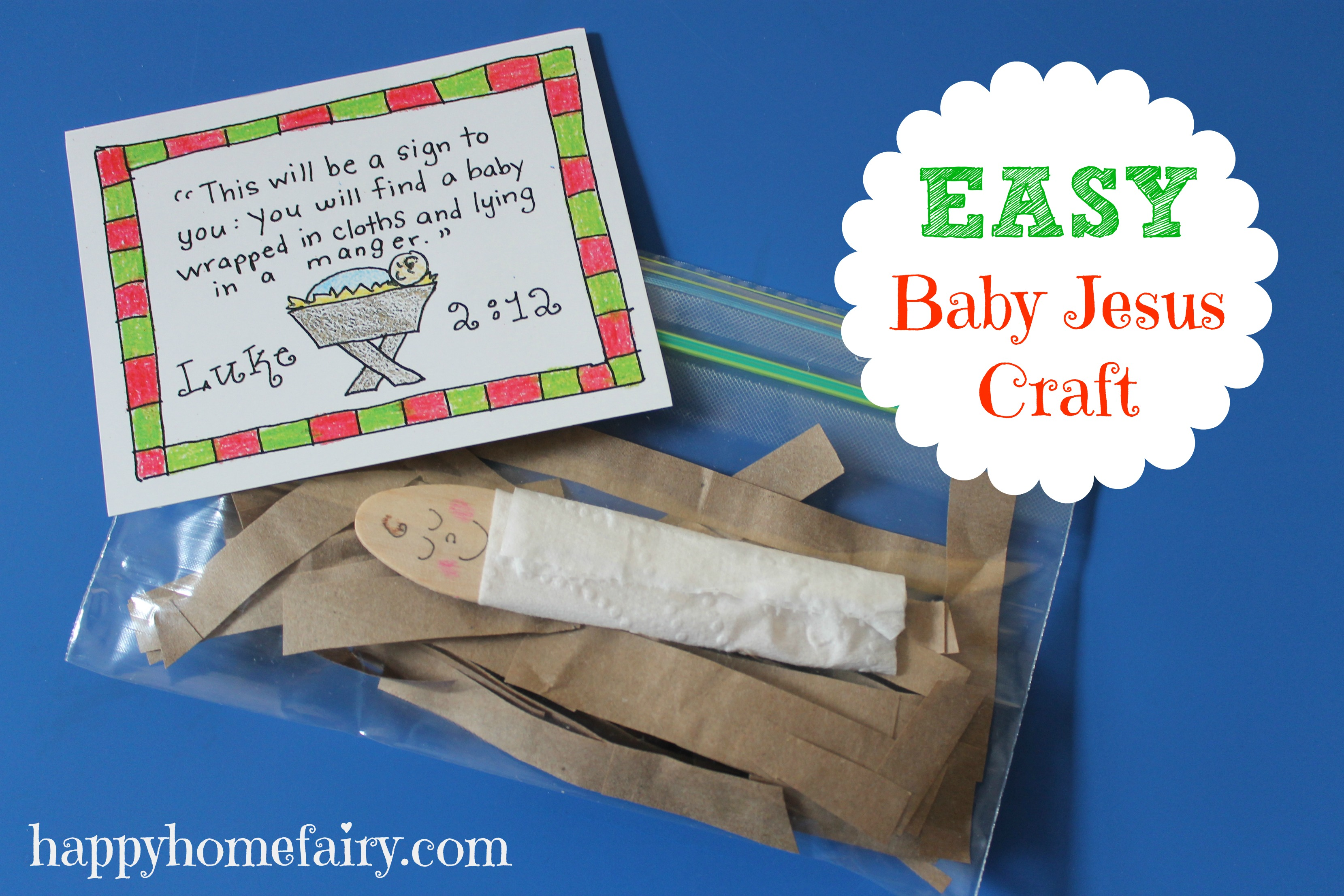 Baby Jesus Crafts And Ideas