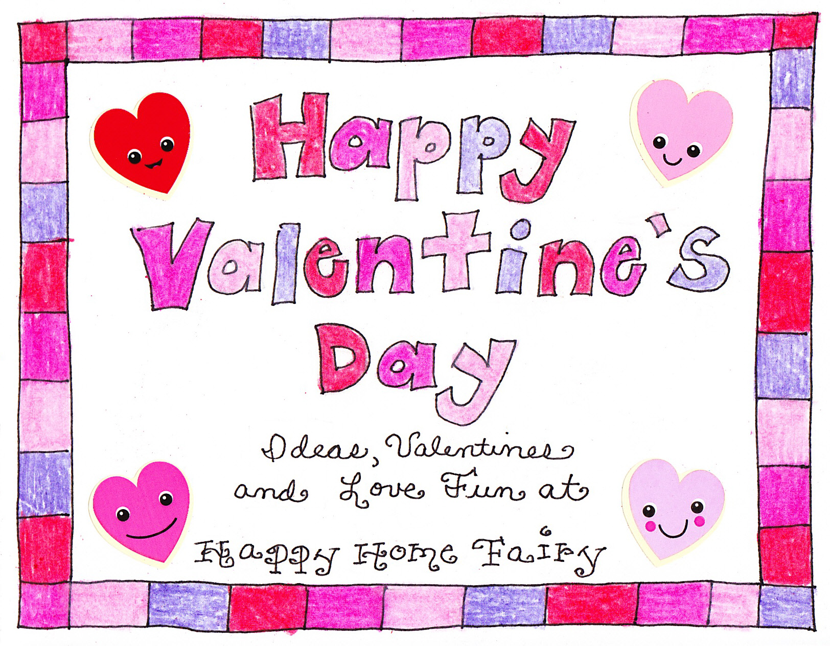 A Valentines Day Countdown FREE Printable Happy Home